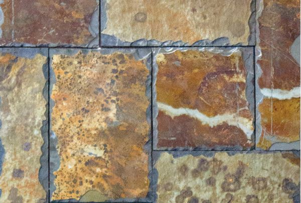 Picture of Hand-chiped Rich Autumn Slate