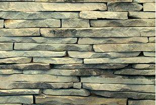 Picture of Saxon Strip Walling green & Grey